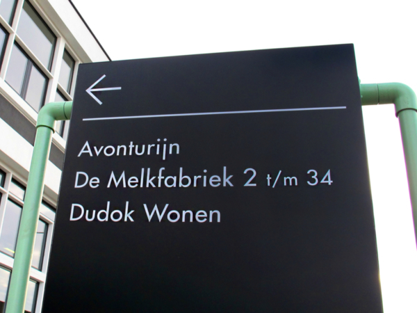 Projecten: Dudok | Groeneveld Sign Systems