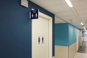 CMC toiletaanduiding | Groeneveld Sign Systems