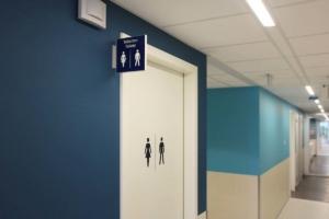 CMC toiletaanduiding | Groeneveld Sign Systems