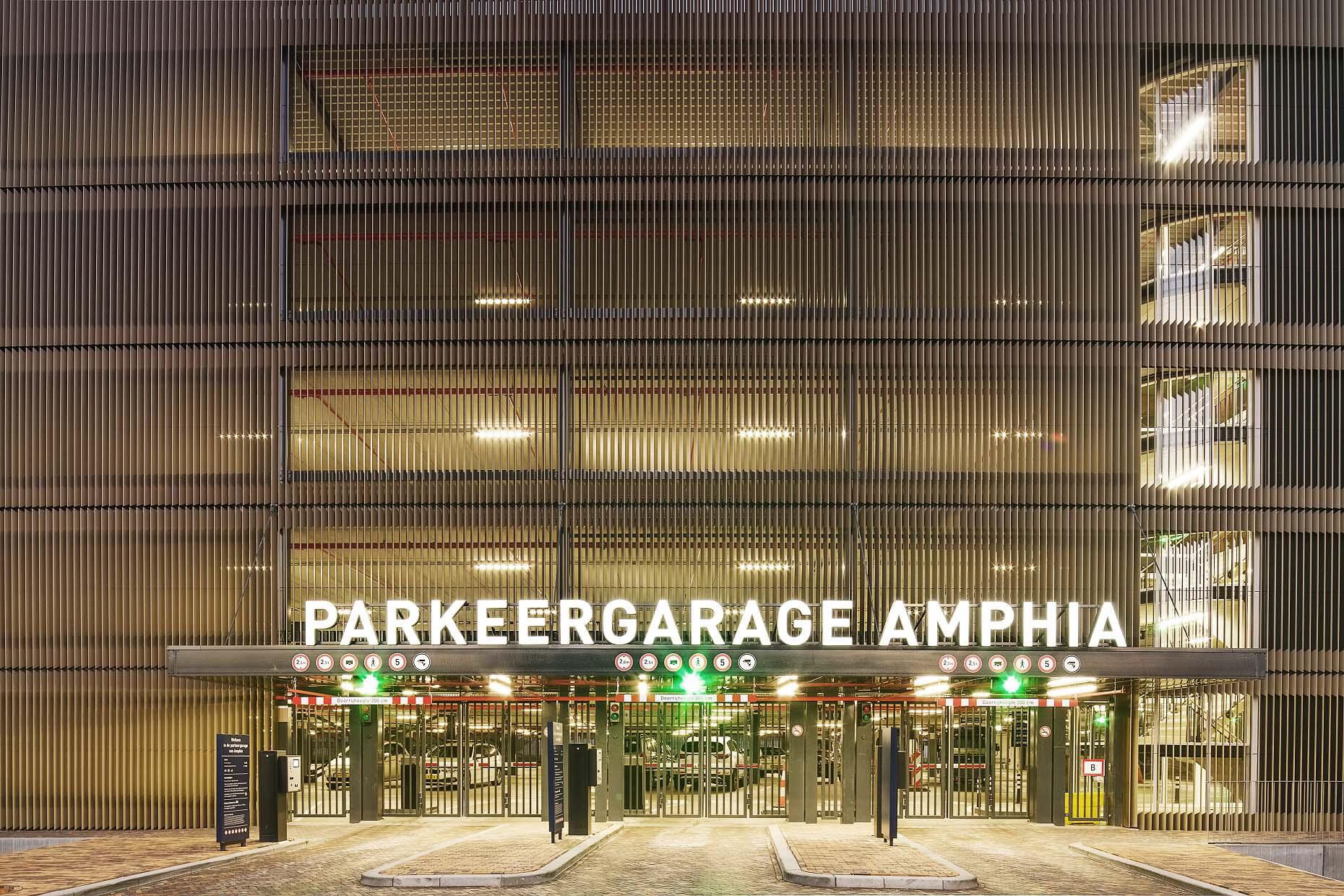 Parkeergarage Amphia   Groeneveld Sign Systems