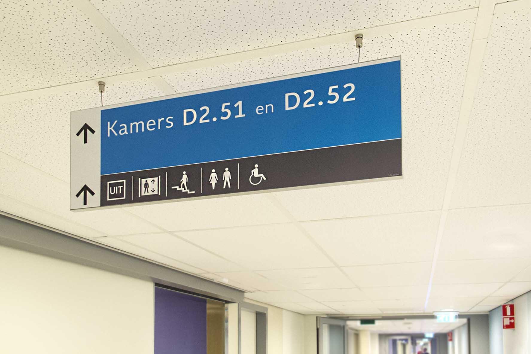 Groene Hart Ziekenhuis | Groeneveld Sign Systems