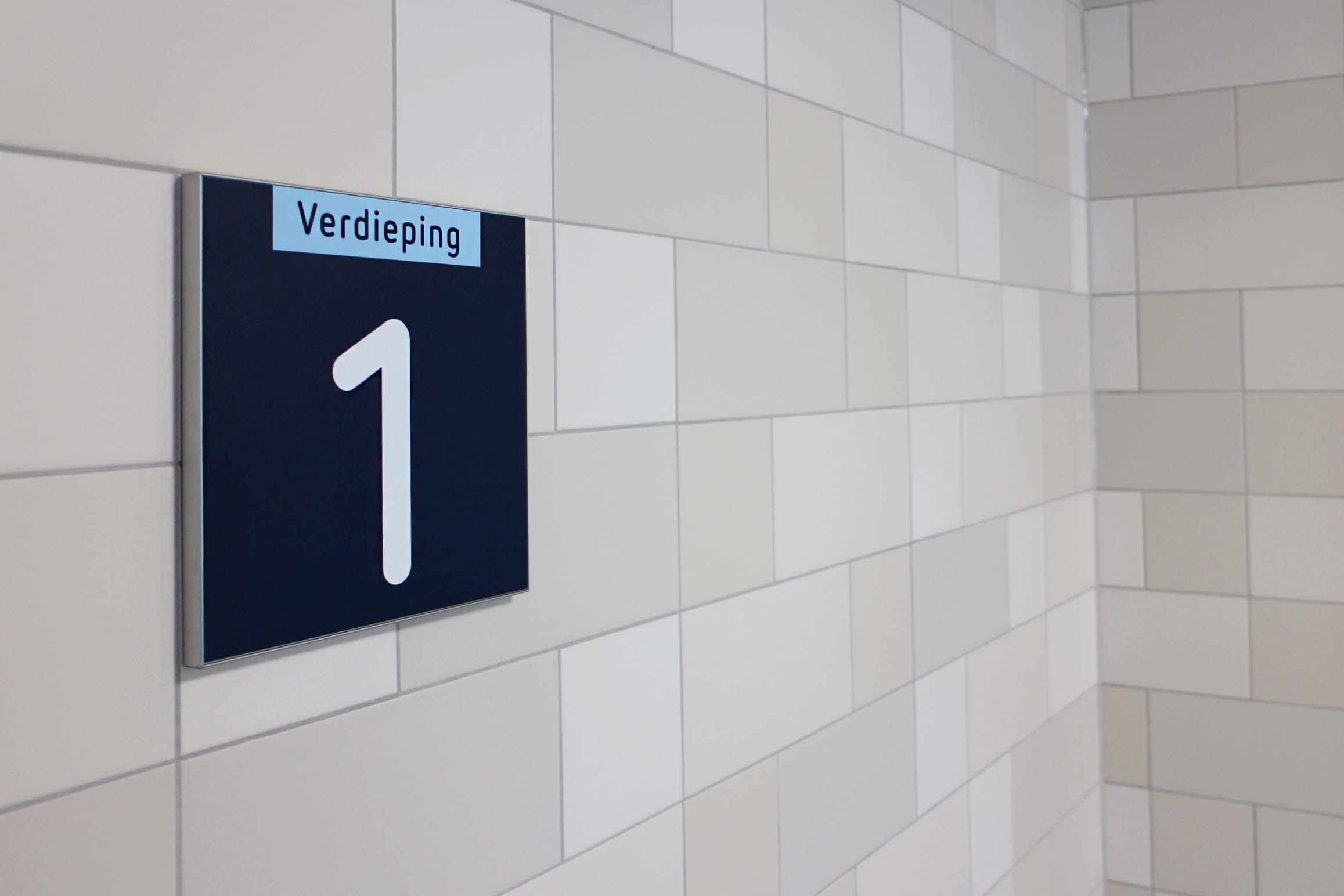 RDG garage — etage 1   Groeneveld Sign Systems