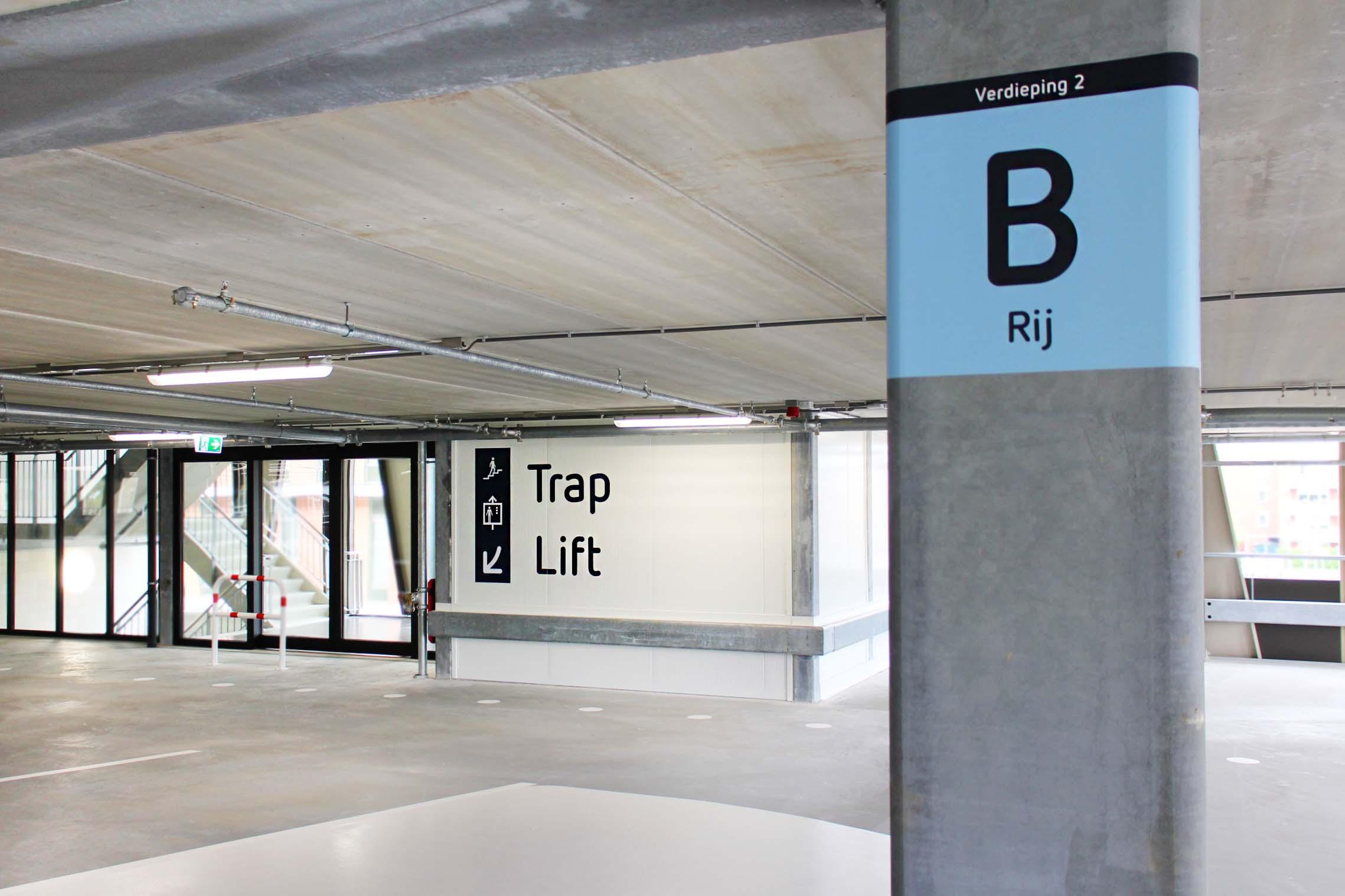 RDG garage — kolom 1   Groeneveld Sign Systems