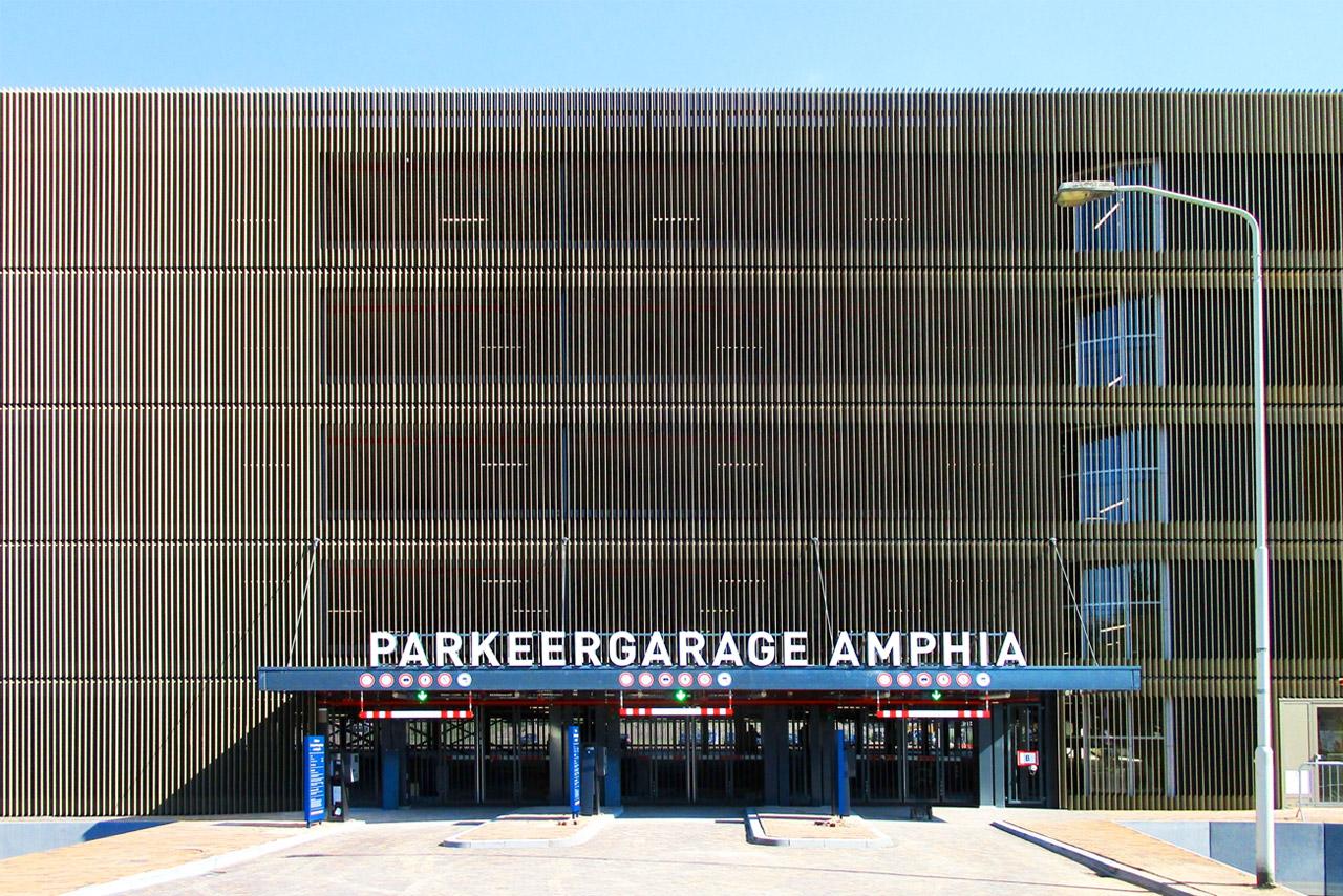Amphia Ziekenhuis gevel parkeergarage   Groeneveld Sign Systems
