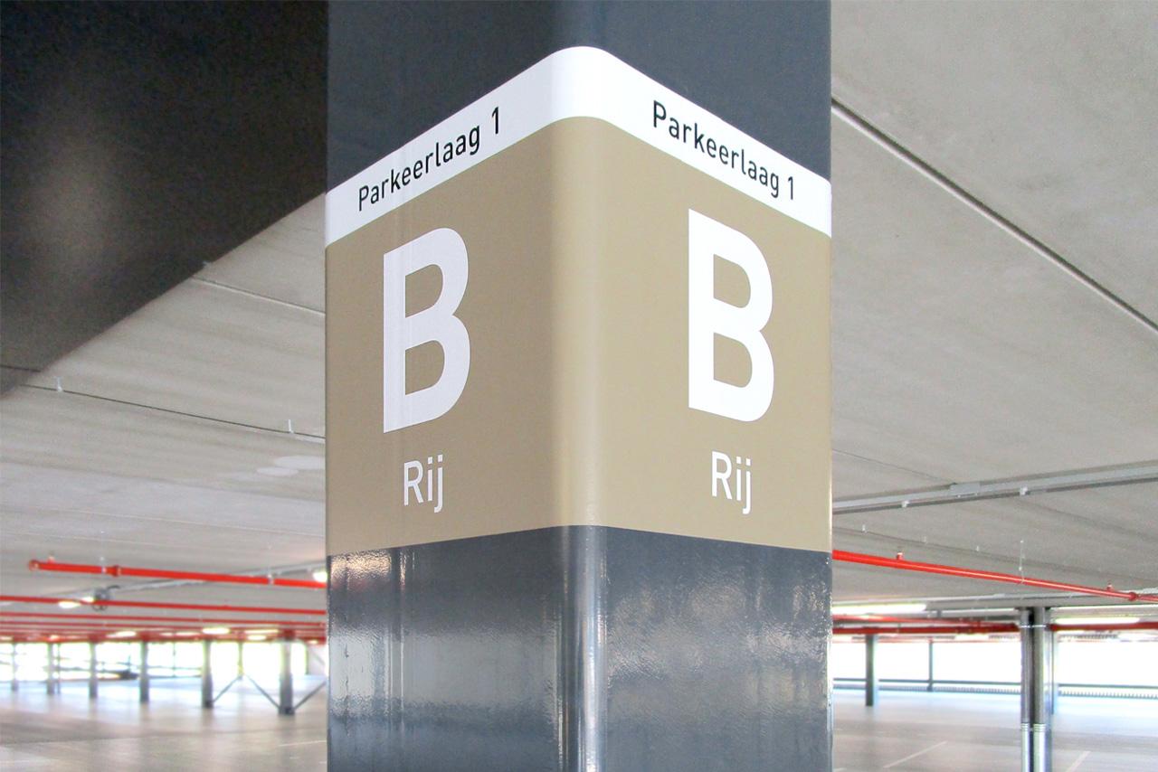 Amphia Ziekenhuis parkeerlaag   Groeneveld Sign Systems