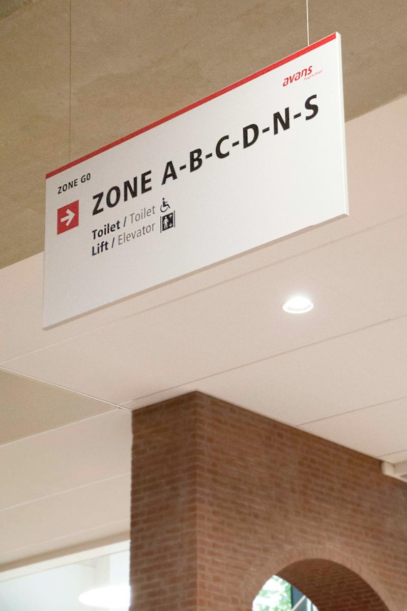 Avans Hogeschool 11 | Groeneveld Sign Systems