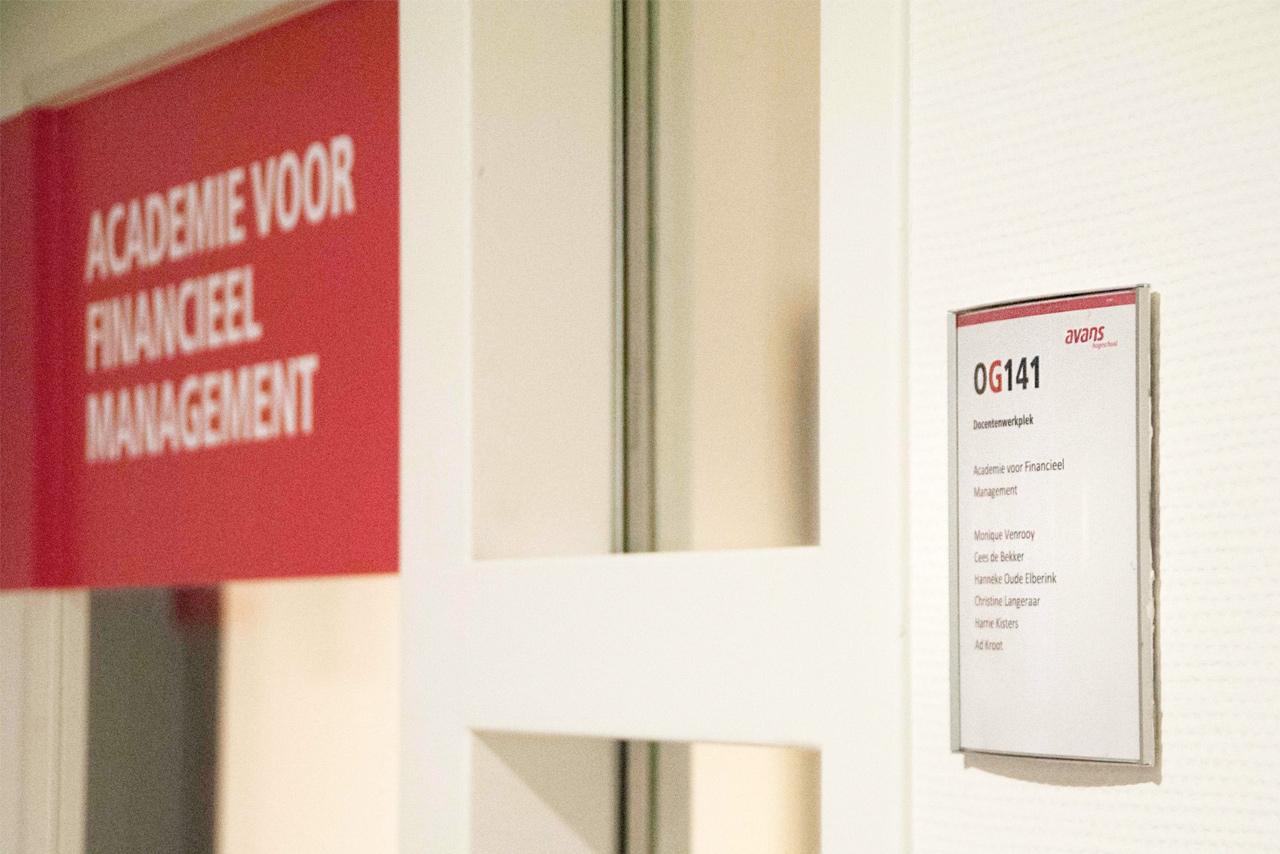 Avans Hogeschool 6 | Groeneveld Sign Systems