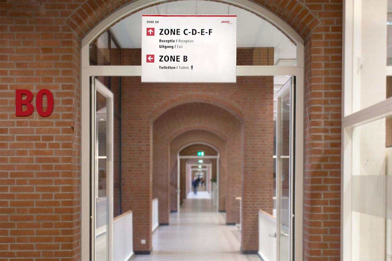 Avans Hogeschool | Groeneveld Sign Systems