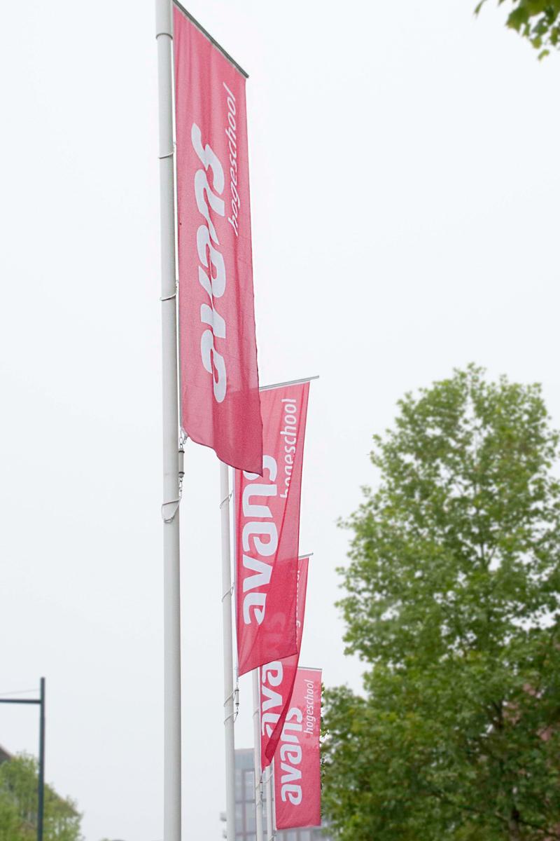 Avans Hogeschool buiten 1 | Groeneveld Sign Systems