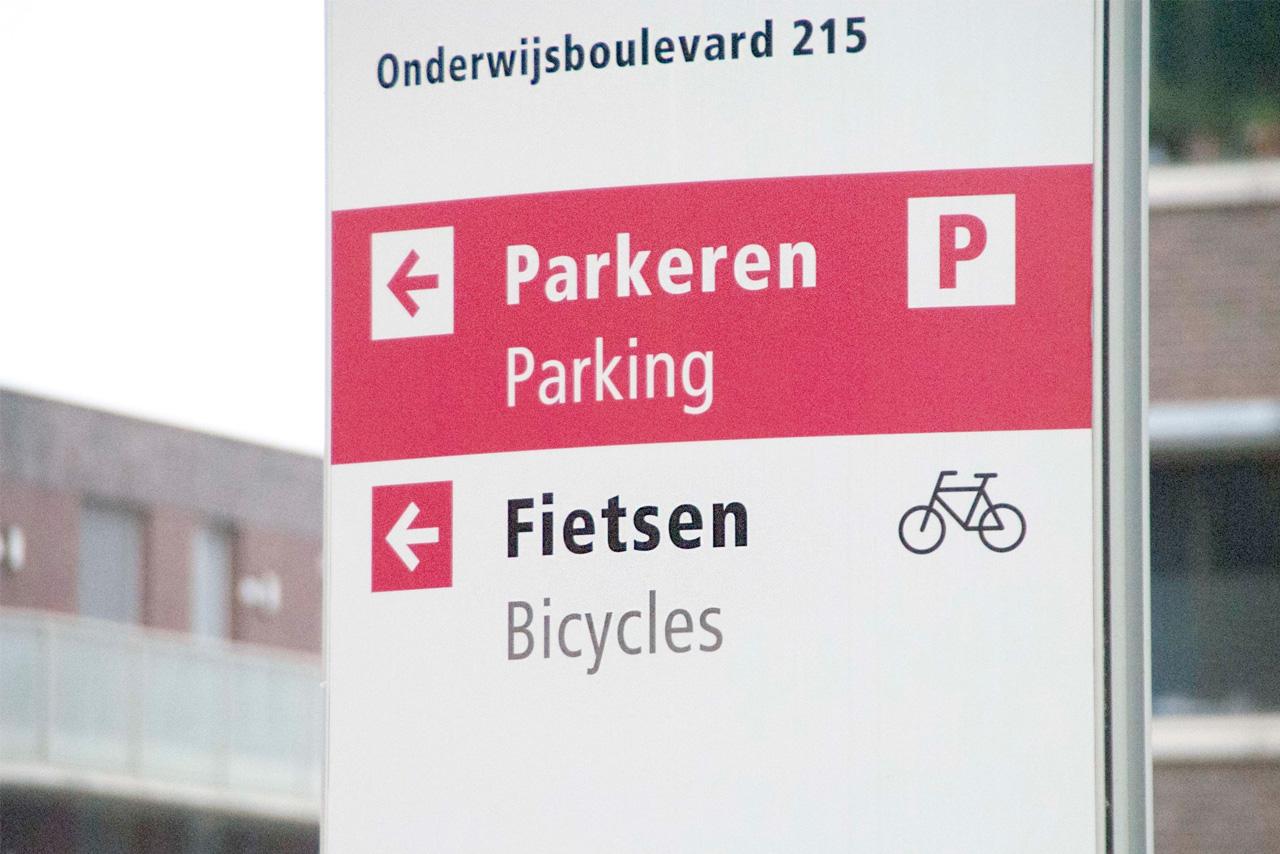 Avans Hogeschool buiten 2 | Groeneveld Sign Systems