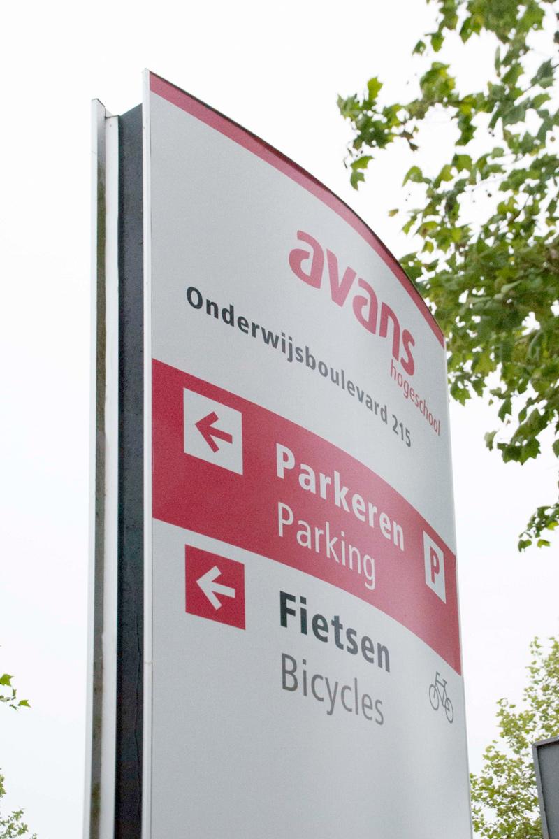 Avans Hogeschool buiten 4 | Groeneveld Sign Systems
