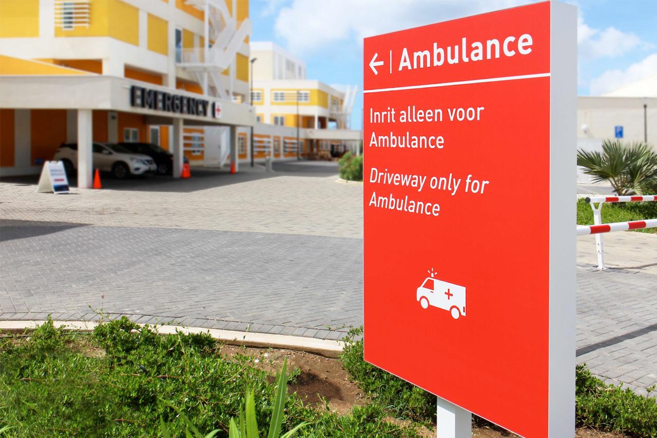 CMC Ambulance bord | Groeneveld Sign Systems