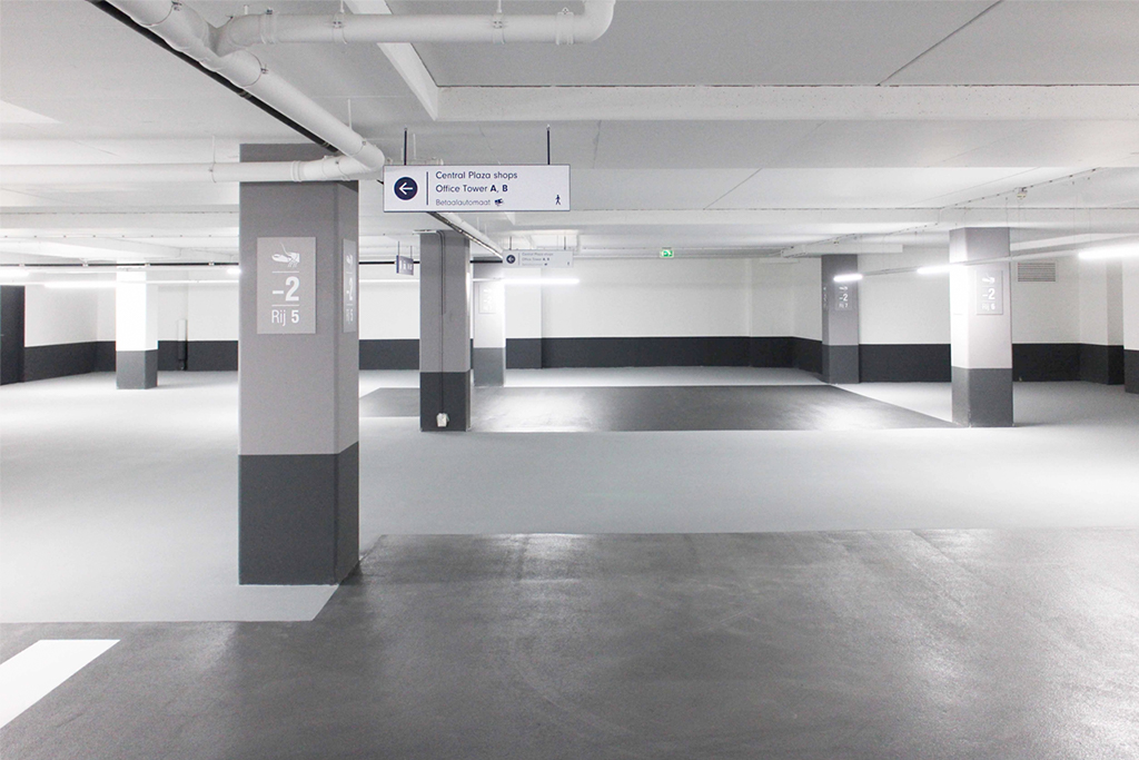 Central Plaza bewegijzeringen | Groeneveld Sign Systems