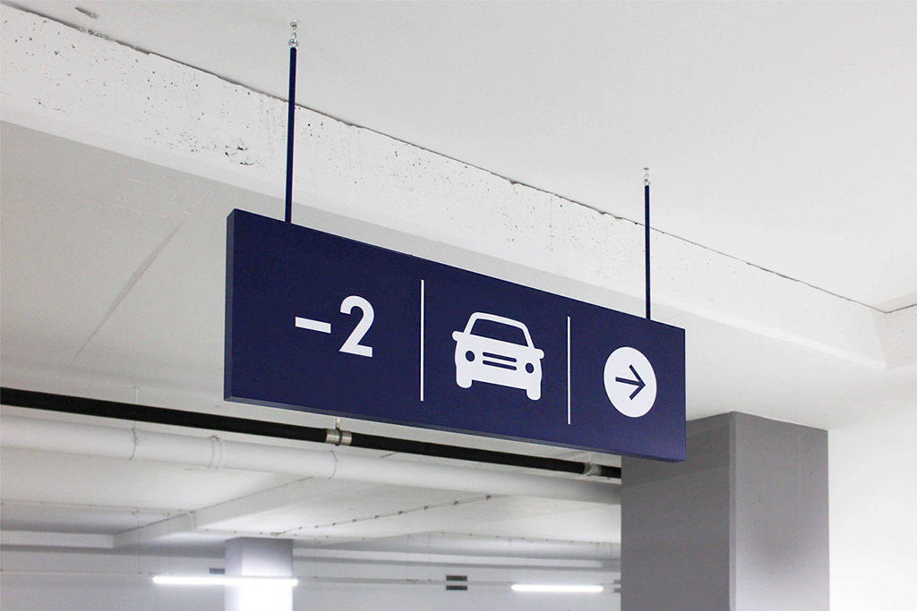 Central Plaza etage -2 | Groeneveld Sign Systems