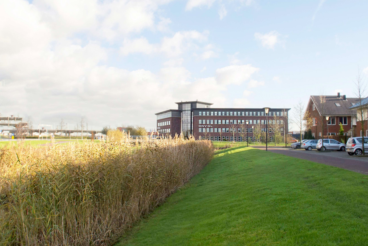 DNV-GL pand   Groeneveld Sign Systems