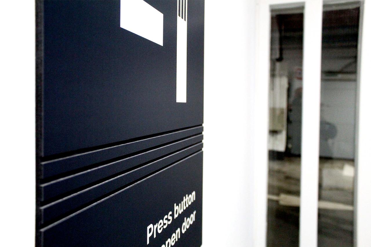 Five 55 etagebord | Groeneveld Sign Systems