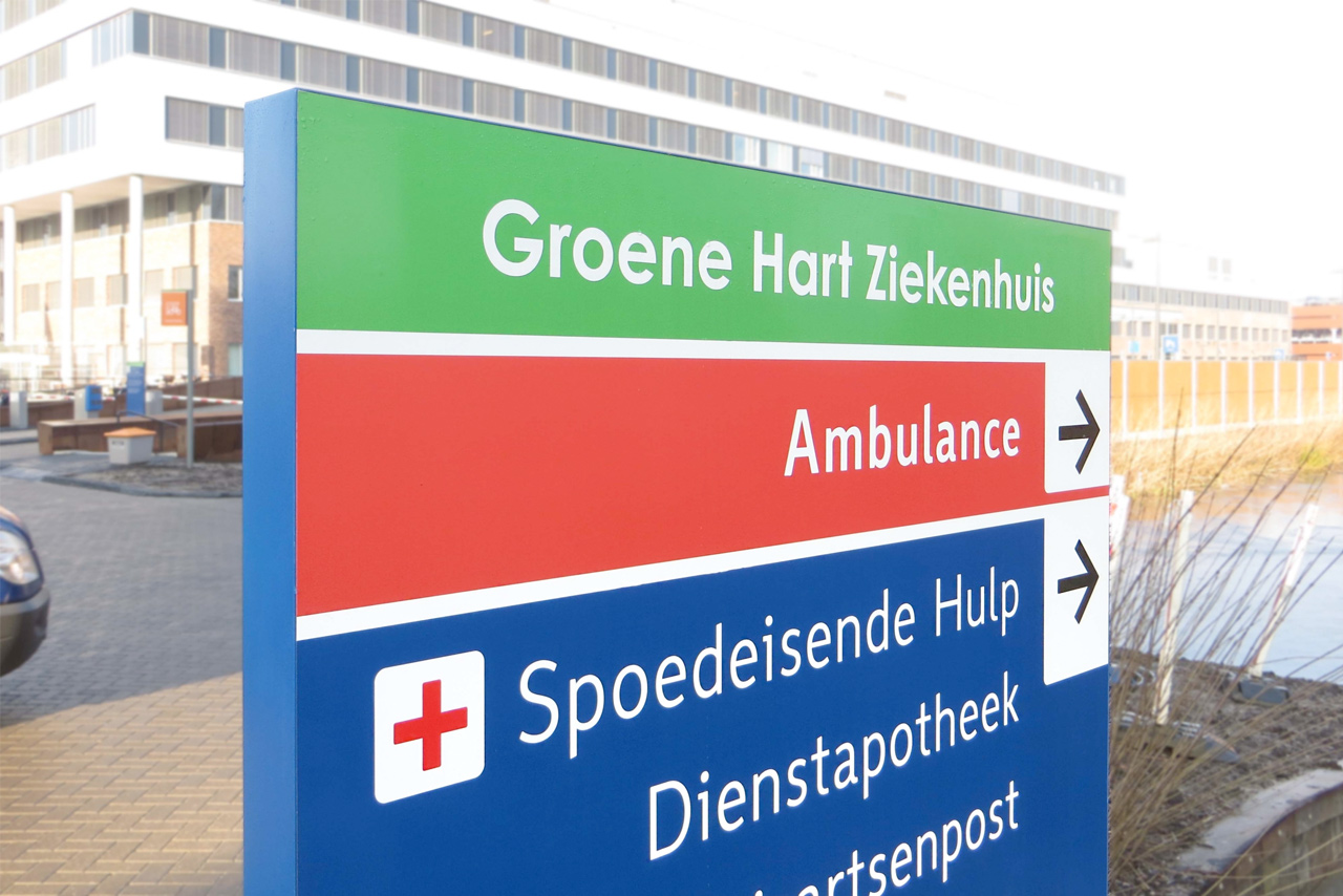 Groene Hart Ziekenhuis 2 | Groeneveld Sign Systems