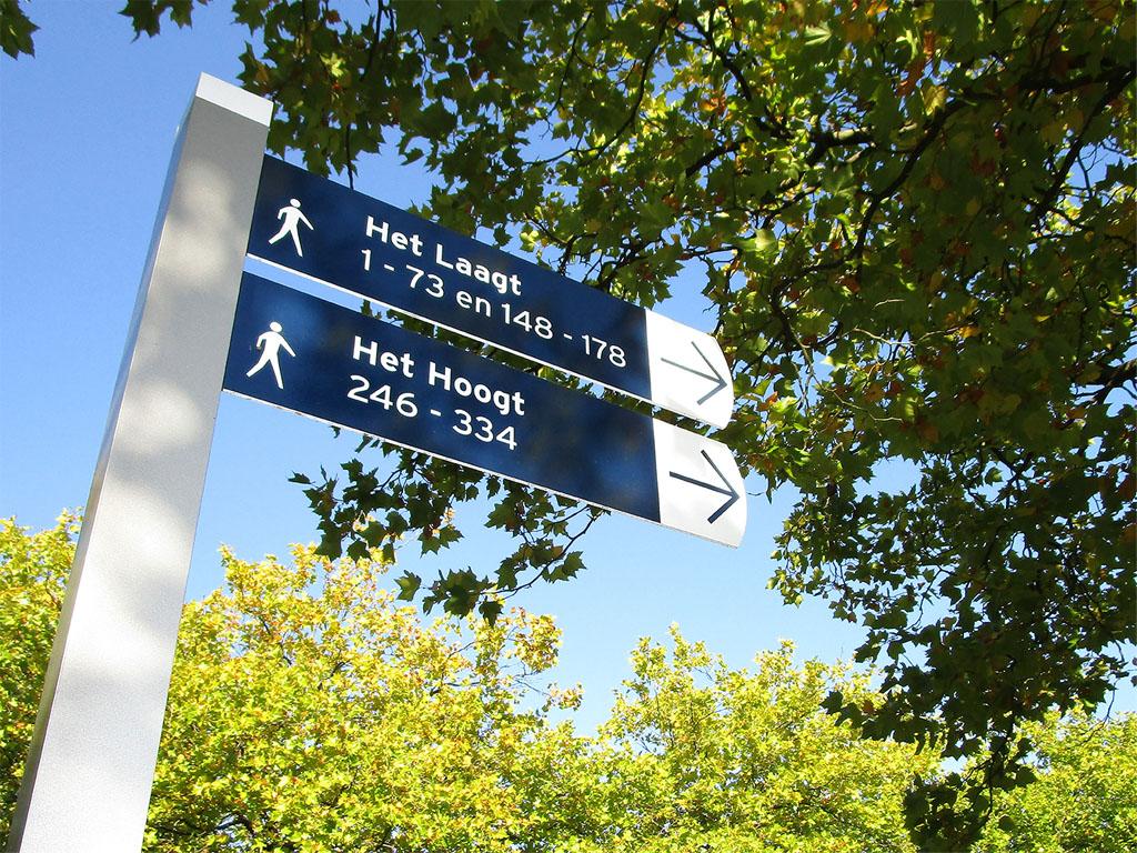 Het Breed Handwijzer   Groeneveld Sign Systems