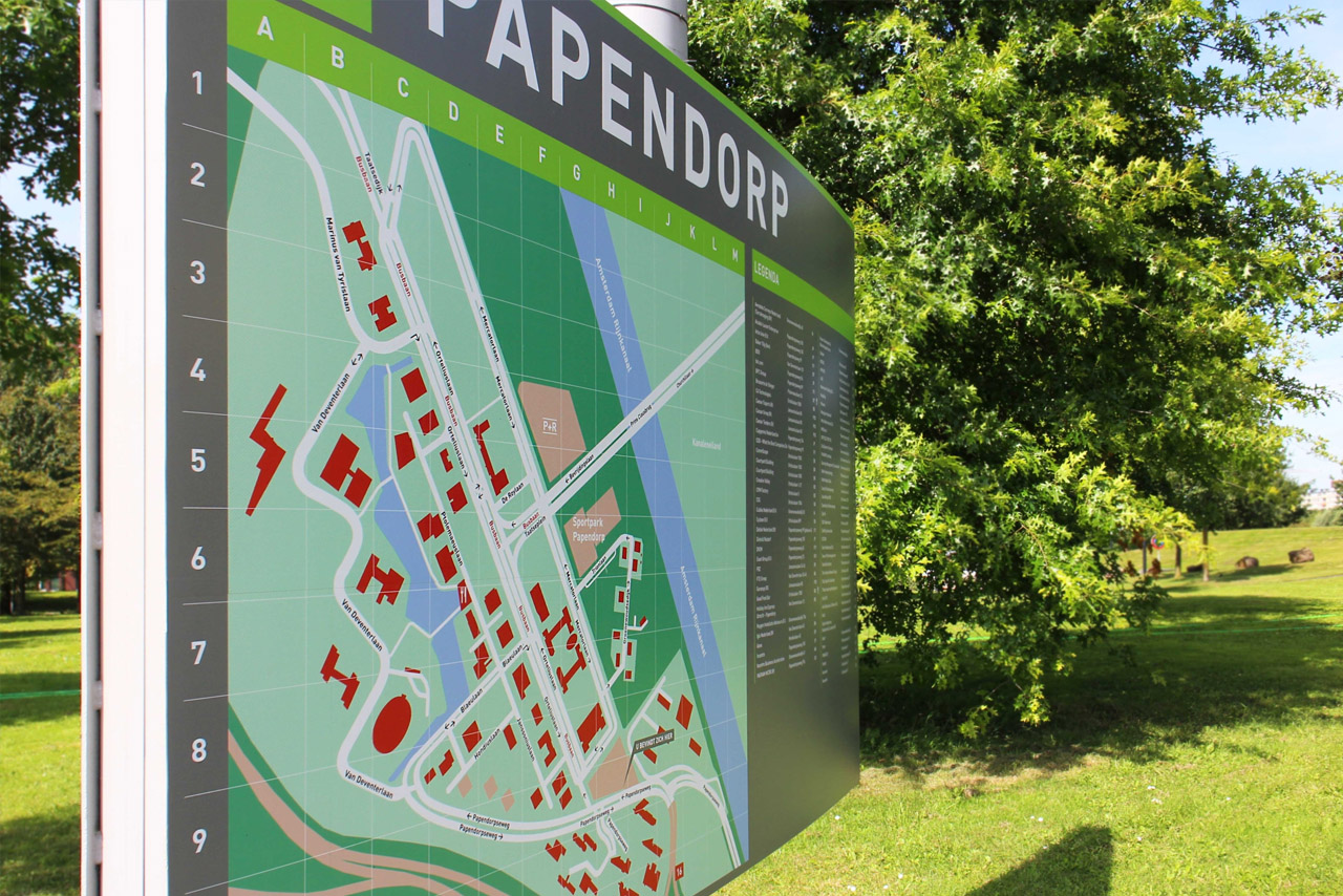 Papendorp 1   Groeneveld Sign Systems