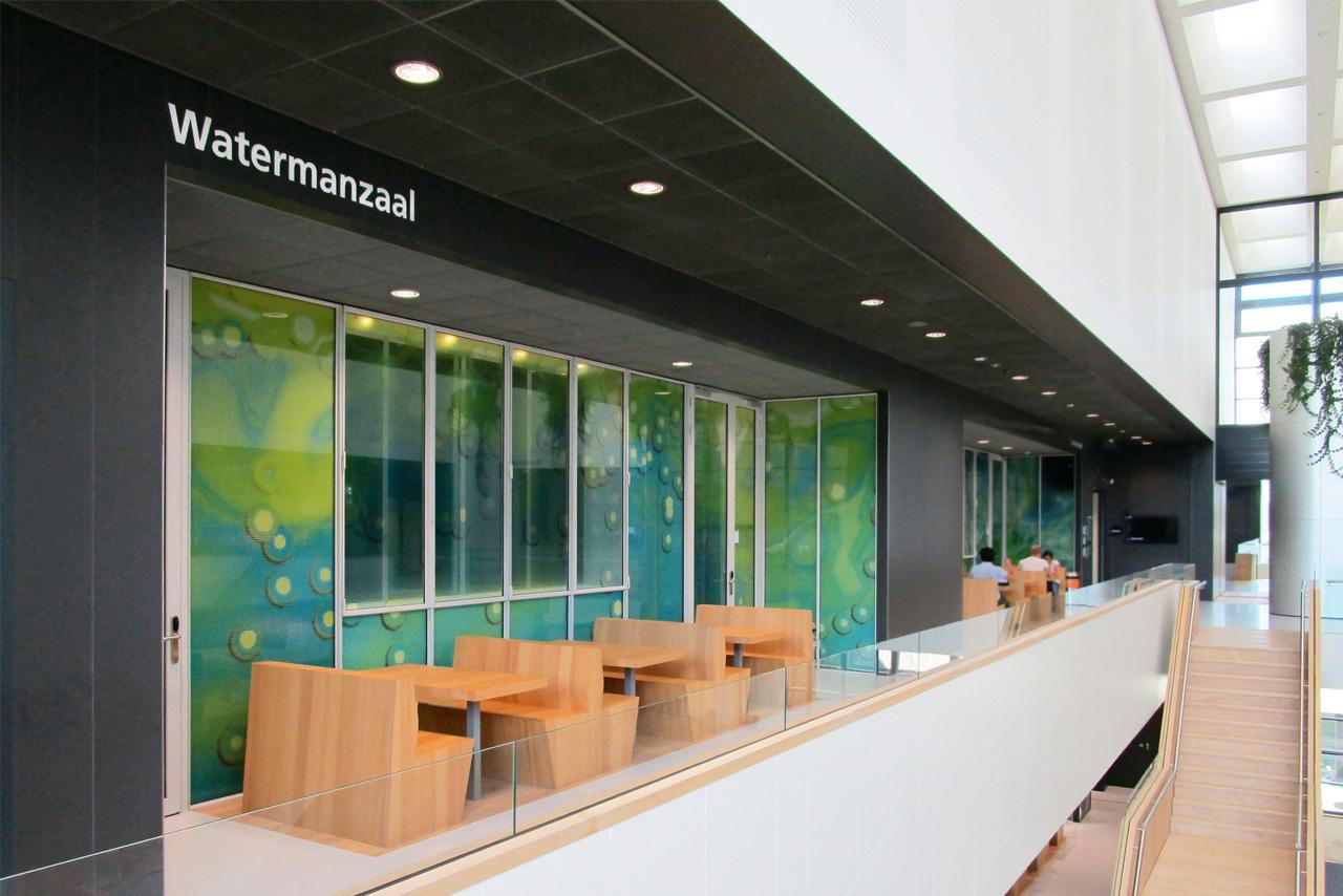 TU Delft TNW Watermanzaal   Groeneveld Sign Systems
