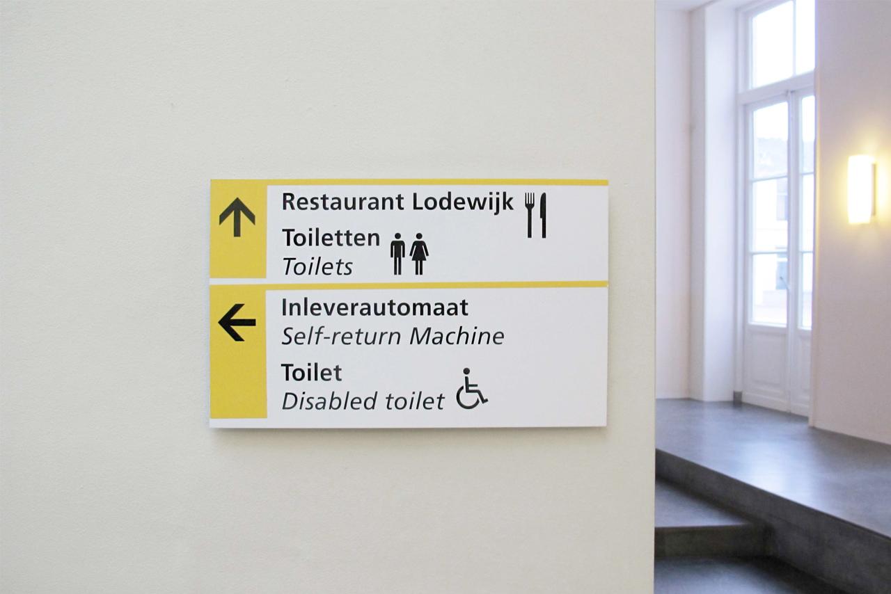 UU verwijsaanduiding   Groeneveld Sign Systems