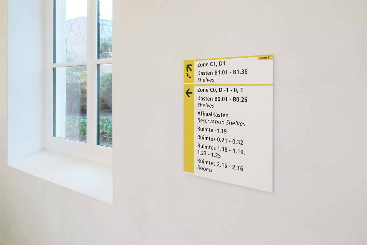 UU verwijsanduiding ruimtes   Groeneveld Sign Systems