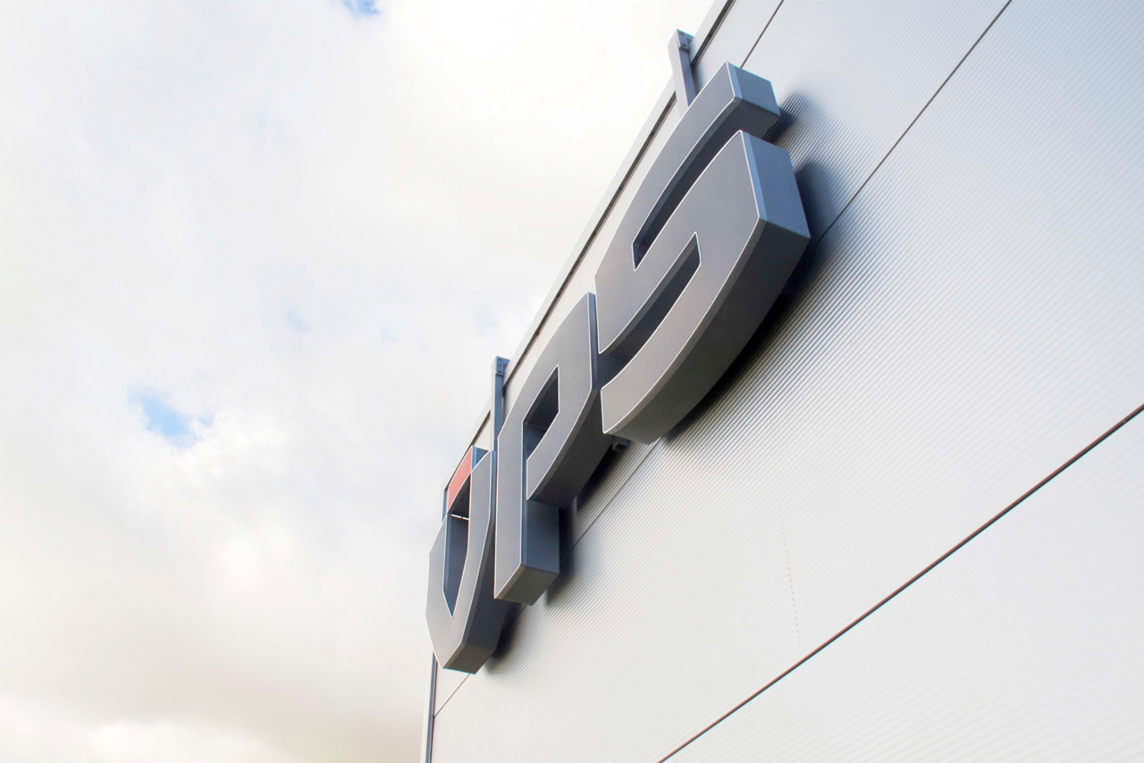VPS gevelsign close-up   Groeneveld Sign Systems